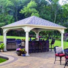 Pergola Ideas For Patio Code: 7105446496 Hot Tub Gazebo, Steel Pergola, Backyard Gazebo, Pergola With Roof, Backyard Patio Designs, Wooden Pergola, Backyard Pergola, Pergola Designs, Pergola Plans
