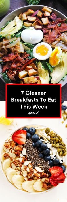 Getting out of bed just got way easier. #healthy #breakfast #recipes http://greatist.com/eat/clean-breakfast-recipes-that-taste-delicious