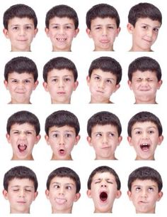 Expressions to teach emotions