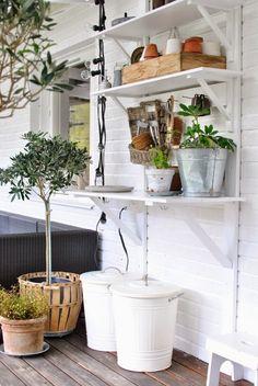 planteringsbord terrass altan olivträd