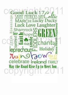 Cute St. Patrick's Day Printable
