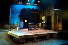 The Drawer Boy. The Tron Theatre Company. Scenic design by Hazel Blue. 2008