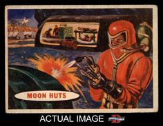 1957 Topps Space Cards 42 Moon Huts VG L1389 | eBay