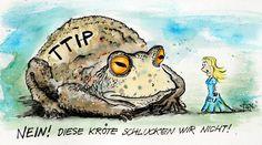 TTIP - Kröte schlucken