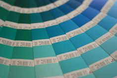 Wallpapers Teal Blue Green Color Swatches 3456x2304