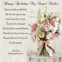 happy birthday in heaven mom - Bing images