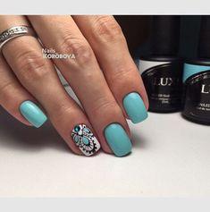 Идеи дизайна ногтей - фото,видео,уроки,маникюр! Glam Nails, Beauty Nails, Short Nail Designs, Nail Art Designs, Love Nails, My Nails, Country Nails, Mandala Nails, Creative Nails