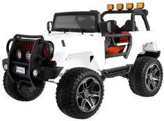 Dwuosobowe Auto Na Akumulator Jeep 4x4 Jeep Monster Jeep Monster Of Road Z Reduktorem Napedu 2x2 4x4x Plecak Gratis Monster Trucks Golf Carts Vehicles