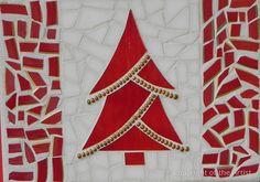 Canadian Tree by Anita Verstraete  ~  Maplestone Gallery ~ Contemporary Mosaic Art