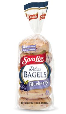 Sara Lee Bagels (plain and blueberry) - IMPORTANT: Please read ingredient labels. Manufacturers continually change packaging  and processing.