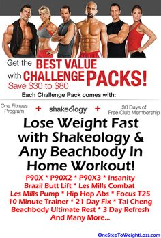 Start losing weight today with Shakeology and a work out of your choice. Plus, you'll have access to online workouts with Beachbody on Demand! Where To Buy Shakeology, What Is Shakeology, Shakeology Reviews, Workout Routines For Women, At Home Workouts, Start Losing Weight, How To Lose Weight Fast, Shakeology Results, Beachbody Challenge Pack