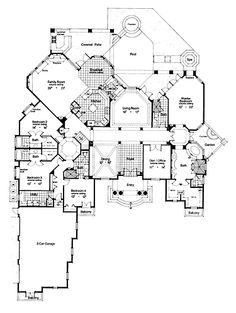 Good Floor Plan For One Level House Planore Luxury Plans