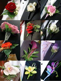 Variációk vőlegény kitűzőre - Wedding Design Blog - esküvő stílusosan