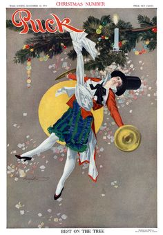 Best on the Tree. From the December 12, 1914 cover of Puck.