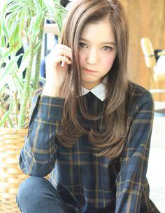 (usk-33)大人かわいい縮毛矯正スタイル   ヘアカタログ・髪型・ヘアスタイル