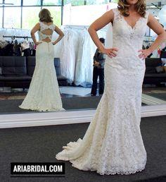 Wedding Dress at Aria Bridal in Escondido/ San Diego, California. Beautiful Wedding Dresses and Bridal Gowns in San Diego.