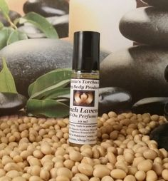 French Lavender Perfume Oil / Organic Perfume by TaniasTorches on Etsy