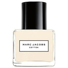 Marc Jacobs Splash: Cotton Eau de Toilette/3.4 oz. (240 BRL) ❤ liked on Polyvore featuring beauty products, fragrance, perfume, apparel & accessories, multicolored, marc jacobs, marc jacobs perfume, marc jacobs fragrance, eau de toilette perfume and edt perfume