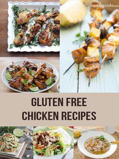 50 Easy Gluten Free Chicken Recipes