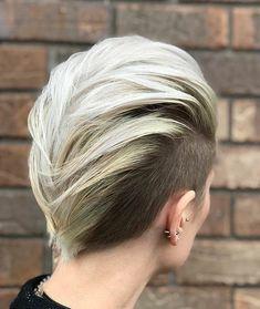 "Polubienia: 2,974, komentarze: 13 – Short hair isn't just for boys (@hashtagpixiecuts) na Instagramie: ""#pixiecuts From @sarah_the_color_guru"""