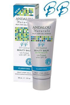 Andalou Naturals BTS Essential: Oil Control Beauty Balm Un-Tinted with SPF 30.  #andalounaturals #backtoschool #pintowin