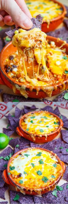 Cheesy Chicken Enchilada Dip Recipe | Cinco de Mayo Appetizer Recipes by DIY Read