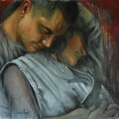 The best way to hold a man is in your arms... -Mae West   artist: Max Arias Valente