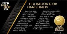 El 10 de la Selección Colombia y del Real Madrid aparece en la lista publicada este lunes por la Fifa junto a figuras como Cristiano Ronaldo, Lionel Messi, Neymar y Thomas Müller.