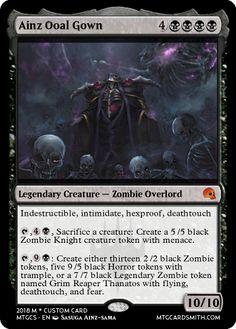 Thing Thing, Black Zombie, Mtg Decks, Dragon Artwork, Legendary Creature, Magic The Gathering Cards, Alternative Art, Magic Cards, Nerd Love