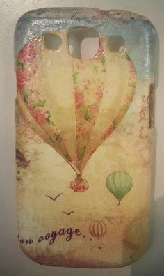 Decoupage cell phone case