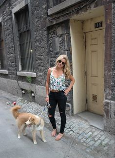 A warm walk in this #fabfound top from @marshalls
