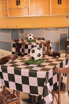 Today you will learn to organize and decorate the best children's party with a soccer theme, because we attach an idea for every detail. Decoration of a Soccer Birthday Parties, Soccer Party, Sports Party, Birthday Party Decorations, Birthday Celebration, Birthday Ideas, Soccer Baby Showers, Soccer Banquet, Cardio Training