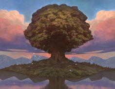 Yggdrasil by WestlyLaFleur