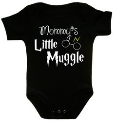 Mommy's Little Muggle mommys little muggle by CrazyBabyFashion, $13.99
