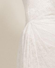 Delicate lace detail.