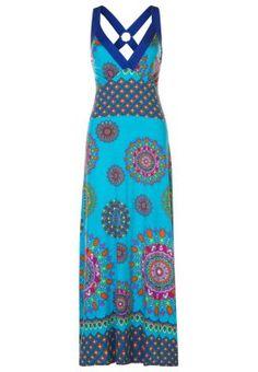BRASILIA - Vestido largo - azul