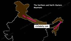 Let's begin with the first physiographic division. It consists of: The Himalayas, and The Northeastern hills (Purvanchal). The Physiographic Divisions of India India World Map, India Map, Himalayas Map, Indian River Map, Fold Mountain, Nanga Parbat, Hindu Kush, Geography Map