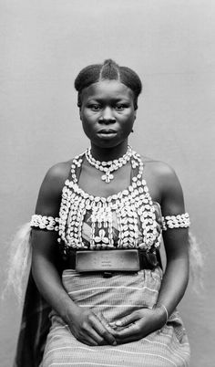 1889 by Roland Napoleon Bonaparte for the World Exhibition African Tribes, African Diaspora, African Women, African Culture, African History, African Beauty, African Fashion, Festival Looks, My Black Is Beautiful
