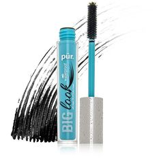 Pur Minerals Pur Minerals Big Look Waterproof Mascara - Black (€18) ❤ liked on Polyvore featuring beauty products, makeup, eye makeup, mascara and purminerals