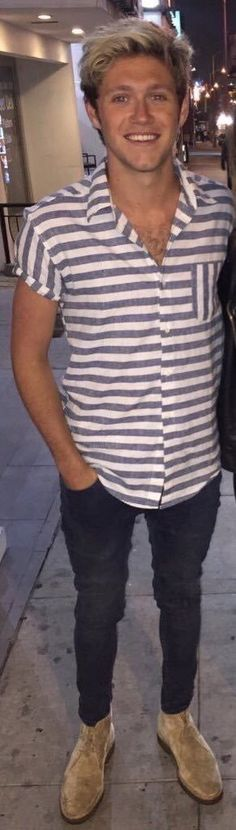Niall in LA last night. <3