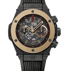 965052b22fc Hublot lança relógio com aro de ouro super-resistente