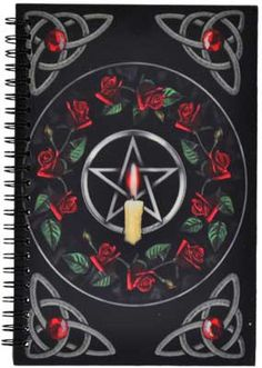 Pentagram Rose journal [BBBU195] - $9.95 : Wicca, Pagan and Occult Practice Mega Store - www.thetarotoracle.com
