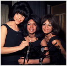 Florence Ballard, Mary Wilson and Diana Ross mar 1965 (Photo by King Collection/Photoshot/Getty Images)