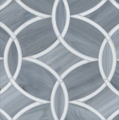 Beau Monde Gl Polly Absolute White And Pearl Contemporary Kitchen Tile Ann Sacks Backsplash