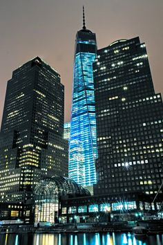 One World Trade Center in Manhattan, New York