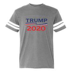 6c729da308e Donald Trump President 2020 Football Jersey T-Shirt