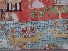 Pintura Mural de Chichén Itzá