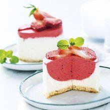 Tupperware - Erdbeer-Joghurttörtchen