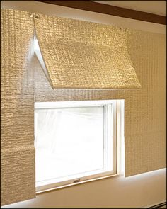 Diy insulating roman shades deck doors lrdr pinterest roman inside job panels of shiny insulation usually covered with fabric are drawn over windows solutioingenieria Image collections
