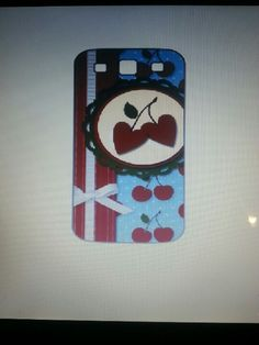 I am designing my own phone case.  #stampinup #MDS #android